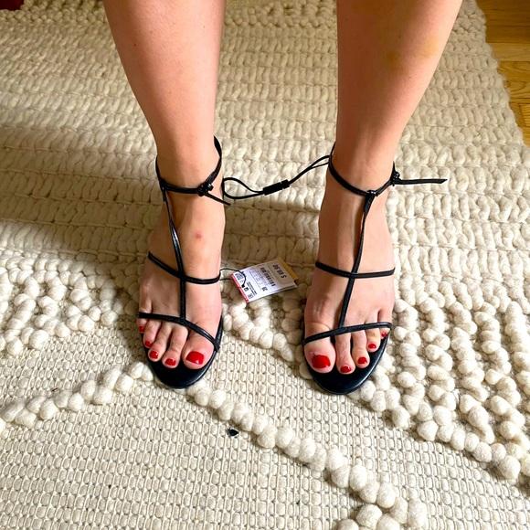 Brand new with tags Zara strappy heels